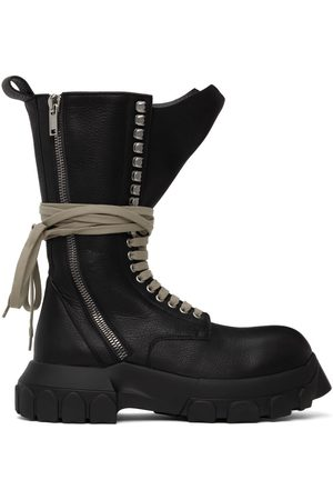 Rick Owens Women Lace-up Boots - Lace-Up Tractor Boots