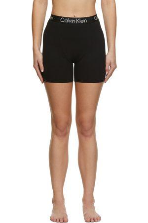 Calvin Klein Boys Boxer Shorts - Black Lounge Sleep Boy Shorts