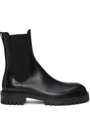 ANN DEMEULEMEESTER Men Chelsea Boots - Buffed Wally Chelsea Boots