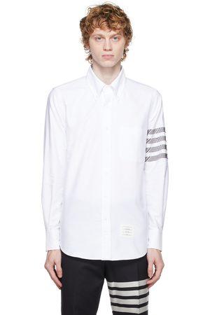 Thom Browne Cotton 4-Bar Oxford Shirt