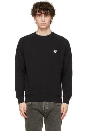 Maison Kitsuné Black Fox Head Patch Sweatshirt