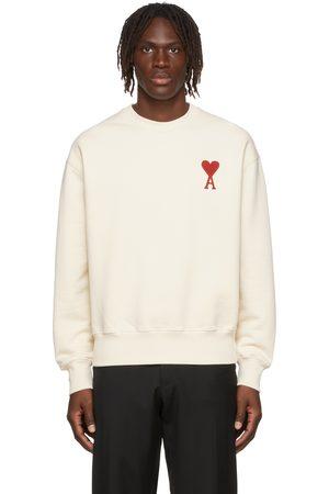 Ami Men Sweatshirts - SSENSE Exclusive Oversize Ami de Cœur Sweatshirt
