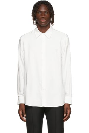 Ami Men Shirts - Viscose Poplin Shirt