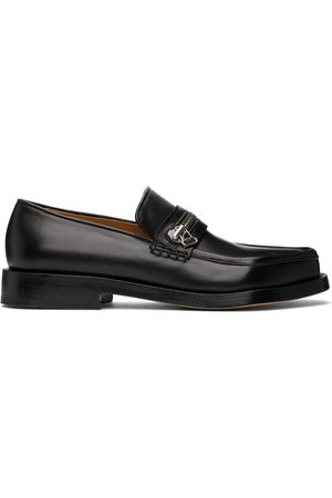 MAGLIANO Leather Monster Zipped Loafers