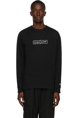 YOHJI YAMAMOTO Men Long Sleeve - New Era Edition Logo Long Sleeve T-Shirt
