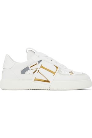 VALENTINO GARAVANI Leather VL7N With Bands Low Sneakers