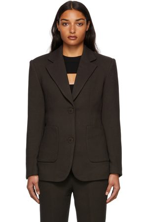 REMAIN Birger Christensen Women Blazers - Brown Dalila Blazer