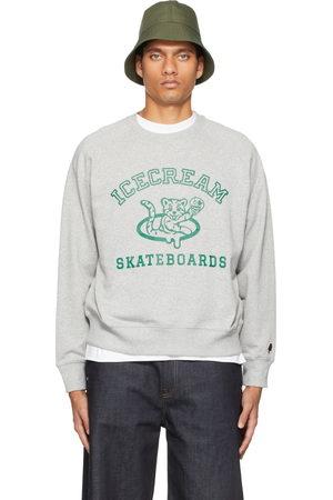 ICECREAM Men Sweatshirts - Grey IC Cubs Crewneck Sweatshirt
