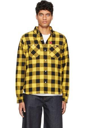 ICECREAM & Black Check Flannel Shirt