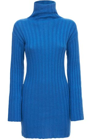 Gimaguas Women Party Dresses - Sayi Turtleneck Knit Mini Dress
