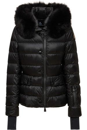 Moncler Armonique Matte Nylon Down Jacket