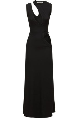 CHRISTOPHER ESBER Maxi Open Front & Side Dress