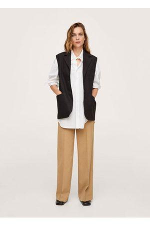MANGO Oversized suit vest