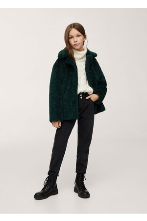 MANGO Girls Blazers - Lapels faux fur coat