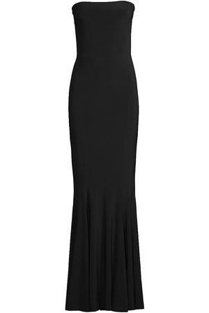 Norma Kamali Women Strapless Dresses - Strapless Mermaid Gown