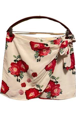 Sézane Silk mini skirt