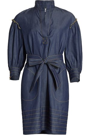 Anna Mason Women Party Dresses - Mia Denim Mini-Dress
