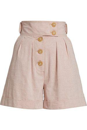 Anna Mason Hannah High-Waist Shorts