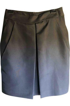 Salvatore Ferragamo Silk skirt suit