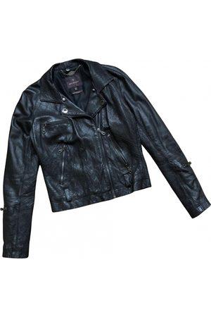 MULBERRY Leather biker jacket