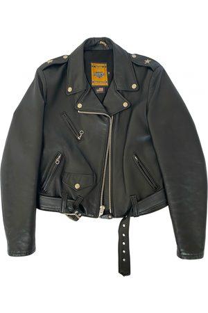 Schott NYC Leather biker jacket