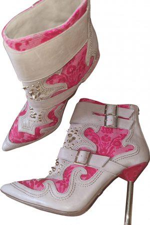 Kurt Geiger Leather western boots