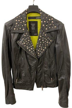 Bomboogie Leather biker jacket