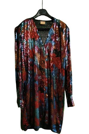 KRIZIA Glitter mid-length dress