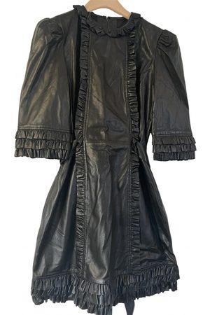 The Vampire's Wife Leather mini dress