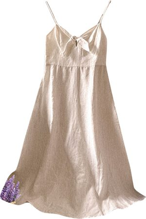 Benetton Linen mid-length dress