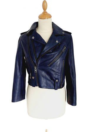 Zadig & Voltaire Leather short vest