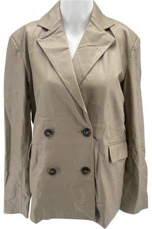 Loulou Studio Leather blazer