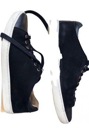Sézane Leather trainers