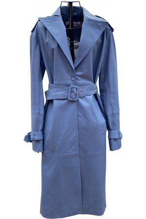 Victoria Beckham Leather trench coat
