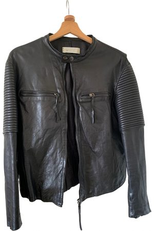 CIRCUS HOTEL Leather jacket