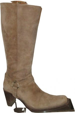 Kenneth Cole Leather cowboy boots