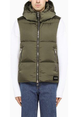 TATRAS Khaki nylon down waistcoat