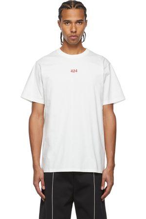 424 FAIRFAX White Logo Alias T-Shirt