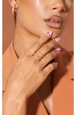 PRETTYLITTLETHING & Gold Assorted Stacking Rings