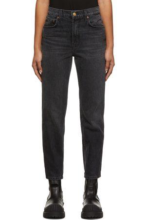 B SIDES Black Louis High Slim Jeans