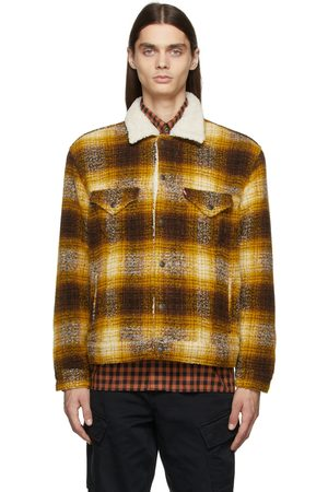 Levi's Yellow Vintage Fit Sherpa Trucker Jacket