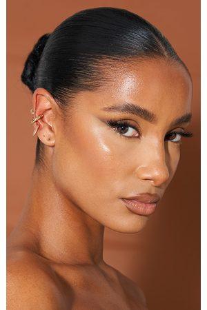 PRETTYLITTLETHING Multi Ear Cuff 3 Pack