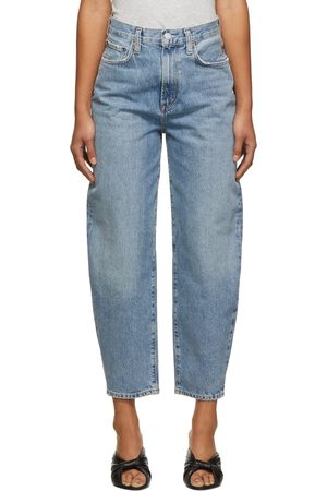 AGOLDE Blue Balloon Ultra High Rise Curved Taper Jeans