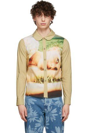Marc Jacobs Heaven Green Graphic Shirt