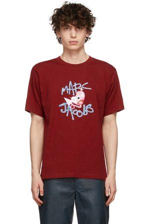 Marc Jacobs Heaven Red Devil Heart T-Shirt