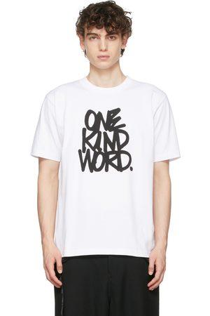 SACAI White Eric Haze 'One Kind Word' T-Shirt