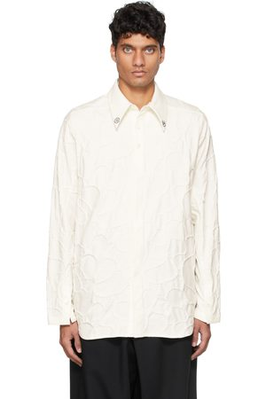 NAMESAKE Men Long sleeves - Off-White Viterbi Embroidered Long Sleeve Shirt