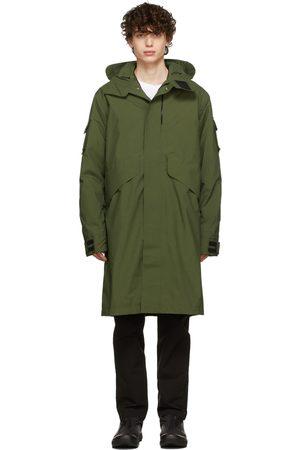 GOLDWIN Men Long sleeves - Khaki Mods Long Coat