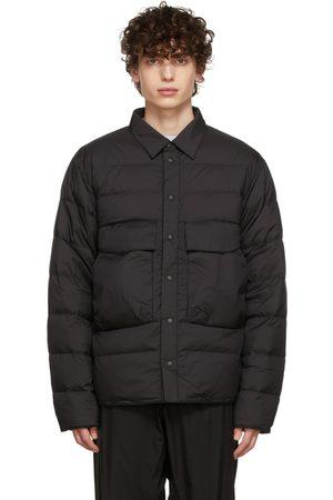 GOLDWIN Men Jackets - SSENSE Exclusive Black Down Shirt Jacket