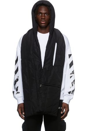 OFF-WHITE Men Scarves - Hooded Puffer Scarf